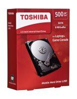 """Dysk HDD TOSHIBA L200 2,5"""" 500GB SATA II 8MB 5400obr/min HDWJ105EZSTA"""