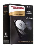 "Dysk HDD TOSHIBA X300 3,5"" 5000GB SATA III 128MB 7200obr/min HDWE150EZSTA"