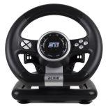 Kierownica ACME STi racing wheel ( PC czarno-srebrny )