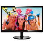 """Monitor Philips 246V5LSB/00 (WLED 24"""" FHD TFT czarny)"""