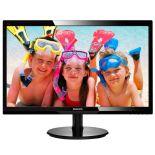 "Monitor Philips 246V5LHAB/00 (WLED 24"" FHD TFT czarny)"