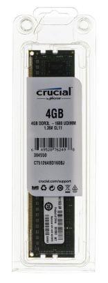 Crucial DDR3 DIMM 4GB 1600MHz (1x4GB) CT51264BD160BJ