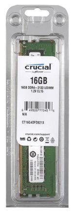 Crucial DDR4 UDIMM 16GB 2133MHz (1x16GB) CT16G4DFD8213