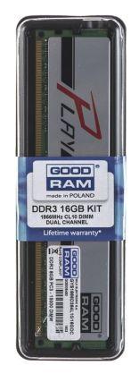 Goodram PLAY DDR3 DIMM 16GB 1866MHz (2x8GB) SILVER