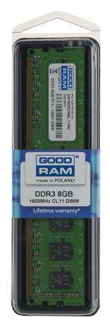 GOODRAM DDR3 8192MB PC1600 CL11