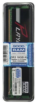 Goodram PLAY BLACK DDR3 DIMM 16GB 1866MHz (2x8GB)