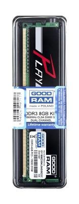 Goodram PLAY DDR3 DIMM 8GB 1866MHz (2x4GB) Czarny
