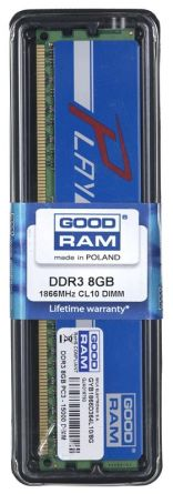 GOODRAM DDR3 PLAY 8192MB PC1866 BLUE CL10