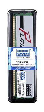 Goodram PLAY DDR3 DIMM 4GB 1866MHz (1x4GB) Srebrny