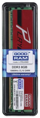 GOODRAM DDR3 PLAY 8192MB PC1866 RED CL10