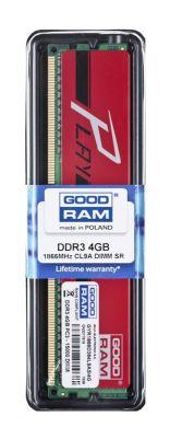 Goodram PLAY DDR3 DIMM 4GB 1866MHz (1x4GB) Czerwony