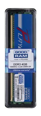 Goodram PLAY DDR3 DIMM 4GB 1866MHz (1x4GB) Niebieski