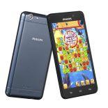 "Smartphone Philips Xenium 8GB 5"" granatowy LTE"