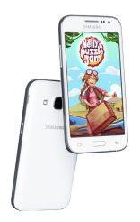 "Smartphone Samsung Galaxy Core Prime (G361) 8GB 4,5"" biały LTE"