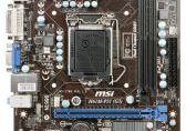 Msi H61M-P31 (G3) Intel H61 Lga 1155 (PCX/VGA/DZW/GLAN/SATA/DDR3) mATX Bulk - Obrazek 1